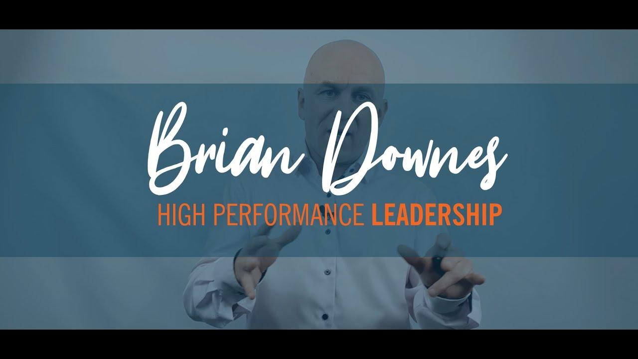 Brian Downes Leadership Coaching